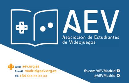 Tarjeta de visita - AEV Madrid - Mireia Mullor