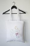 BEIGE- bolsa de tela ilustrada - Impetu - Mireia Mullor